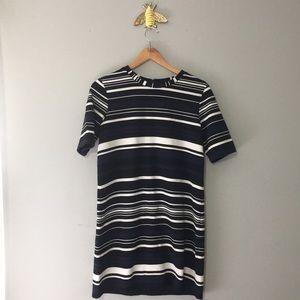 Halogen Striped Tunic Dress